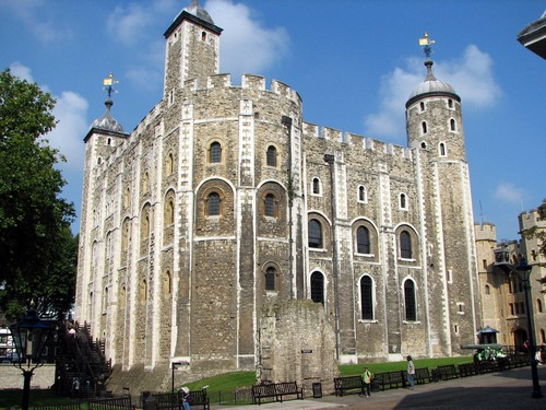 Tourisme Londres - La Tour de Londres ; White Tower 1