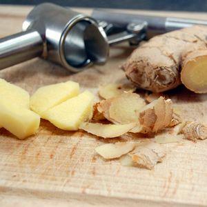 Crevettes marinées au citron et au gingembre ; Recette légère aux saveurs asiatiques 1