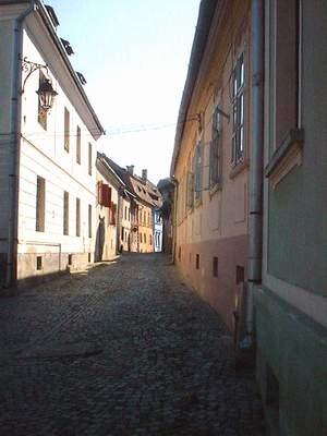 sighisoara rue roumanie