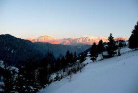 L'hiver et les fêtes de fin d'année à Bran en Transylvanie 1