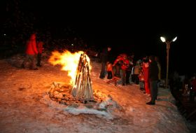 L'hiver et les fêtes de fin d'année à Bran en Transylvanie 3