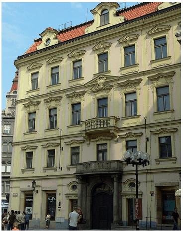 Maison natale de Kafka à Prague