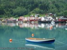 Norvège Lofoten, village
