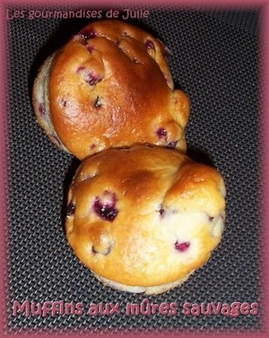 muffins mures