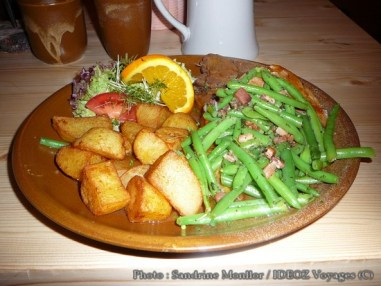 restaurant krone fussen plat de veau