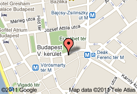 plan hotel meridien budapest