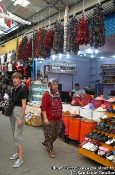 Antalya - Bazar épices et poivrons