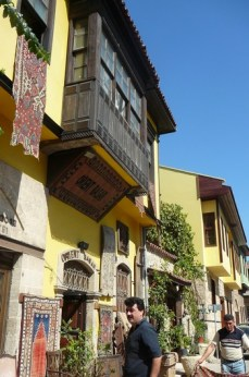 Antalya - marchands de tapis