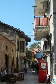 Antalya rue du vieux quartier