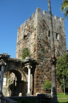 Antalya ville antique