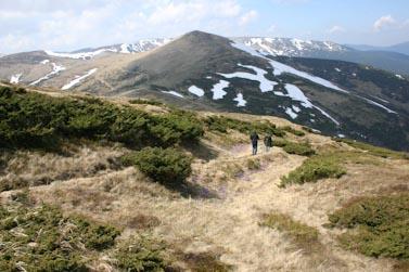 Randonnée dans le massif de Svidovets (Carpates)