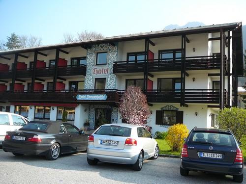 Alpen hotel Brennerbascht Bischofwiesen (Bavière)