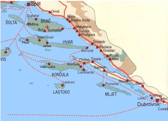 Quelles Iles en Croatie choisir et pour quel type de séjour ou d'excursion? 2