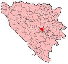 Carte bosnie Visoko