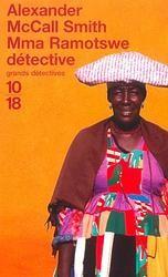 Mma Ramotswe