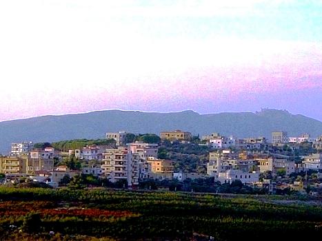 Metulah, l'israëlienne ; ville frontière avec le Liban 1