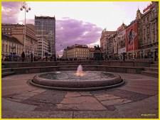 Zagreb - Place Jelacic