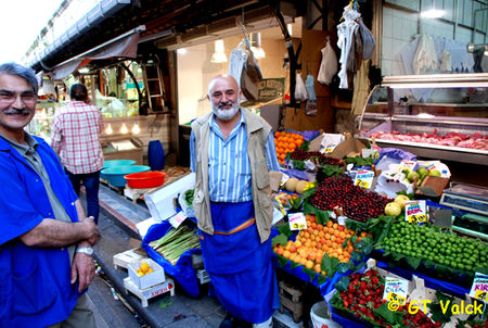 istanbul bazar egyptien Vendeur
