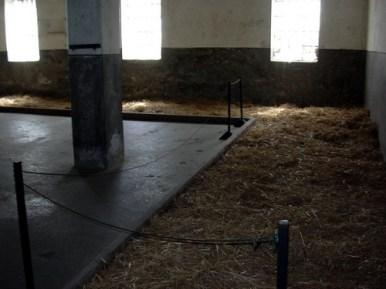 nis camp de concentration nazi de la croix rouge salle