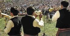 Guca : des trompetistes et la foule
