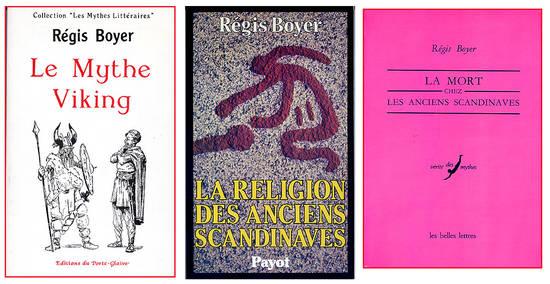 Regis Boyer Vikings litterature