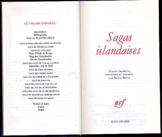 Sagas islandaises mythologie nordique