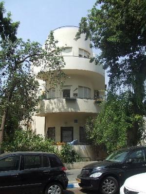 Tel Aviv immeuble Bauhaus