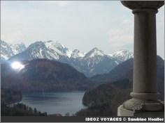 Lac Forggen depuis Neuschwanstein