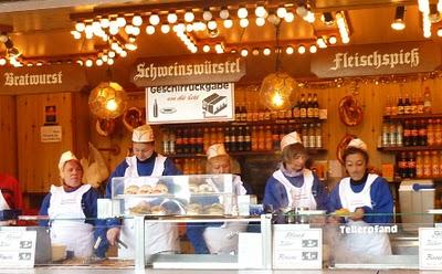 Marche de noel Munich vin chaud