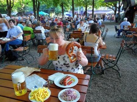 Biergarten Munich muenchen