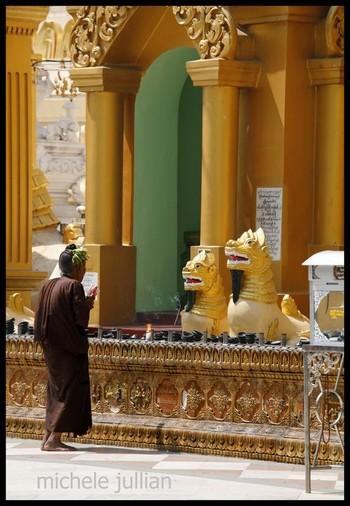 Shwedagon Birmanie