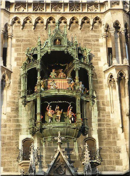 Munich Marienplatz Carillon