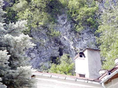 Tismana monastere en roumanie