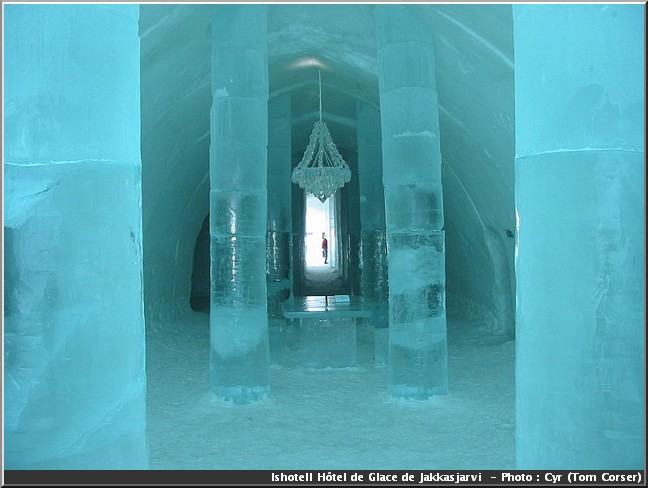 ishotell hotel de glace Jukkasjarvi