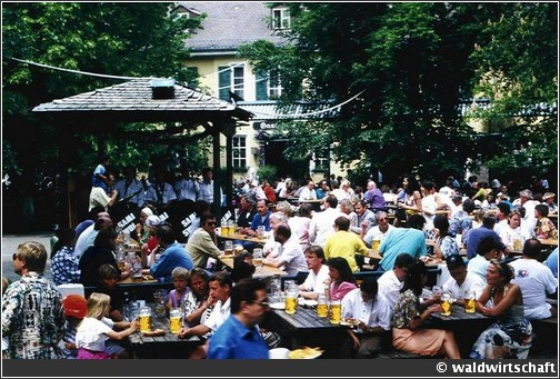 waldwirtschaft Biergarten Munich