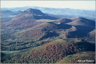 Auvergne pays du vulcain