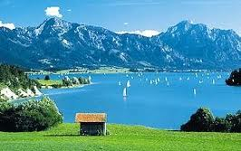 Forggensee lac baviere