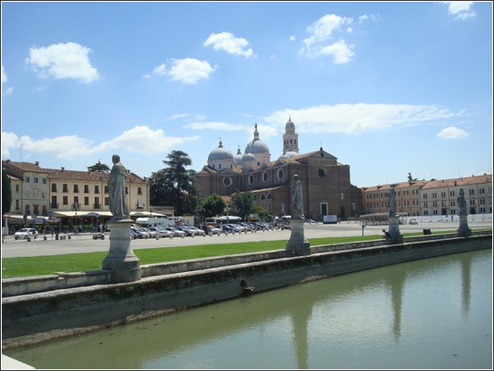 Padova Parce della Valle Basilique Saint antoine de padoue