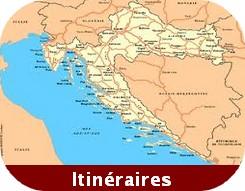 itineraire croatie