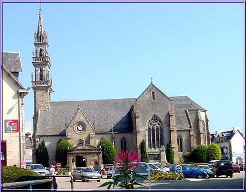 Carantec eglise Bretagne