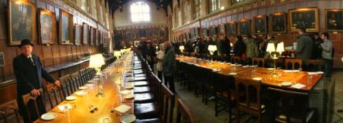 Dining hall Oxford