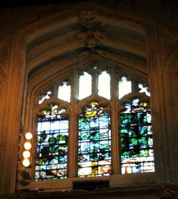 vitraux Oxford eglise