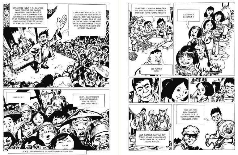 Une vie chinoise bande dessinee chinoise