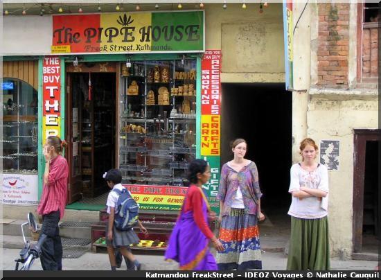 Katmandou nepal the pipe house