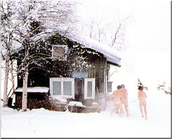 laponie finlande sauna