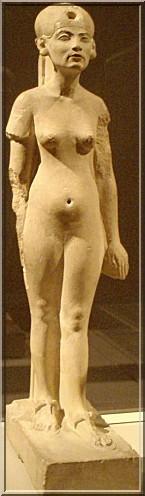 Nefertiti representation idealisee