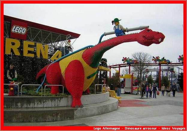 gunzburg legoland allemagne dinosaure