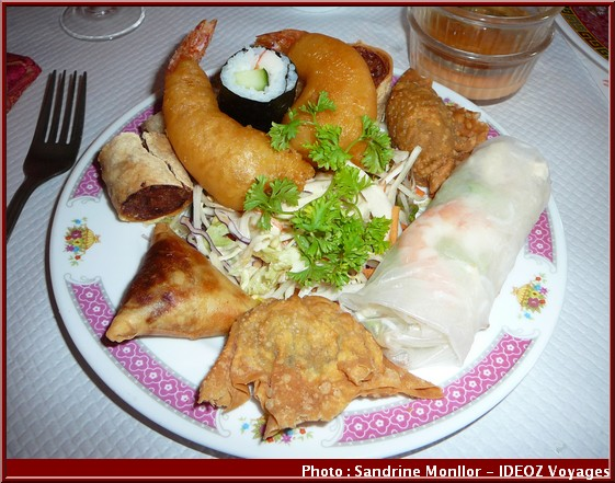 aux delices d'asie assiette gourmande