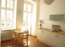 location appartement berlin- hufeland Coin cuisine