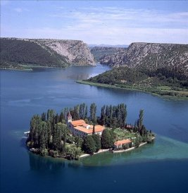 Monastère Visovac à Krka